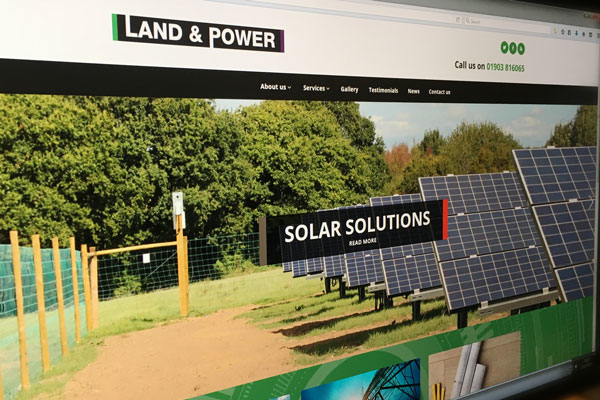 Land & Power - New Website Launched
